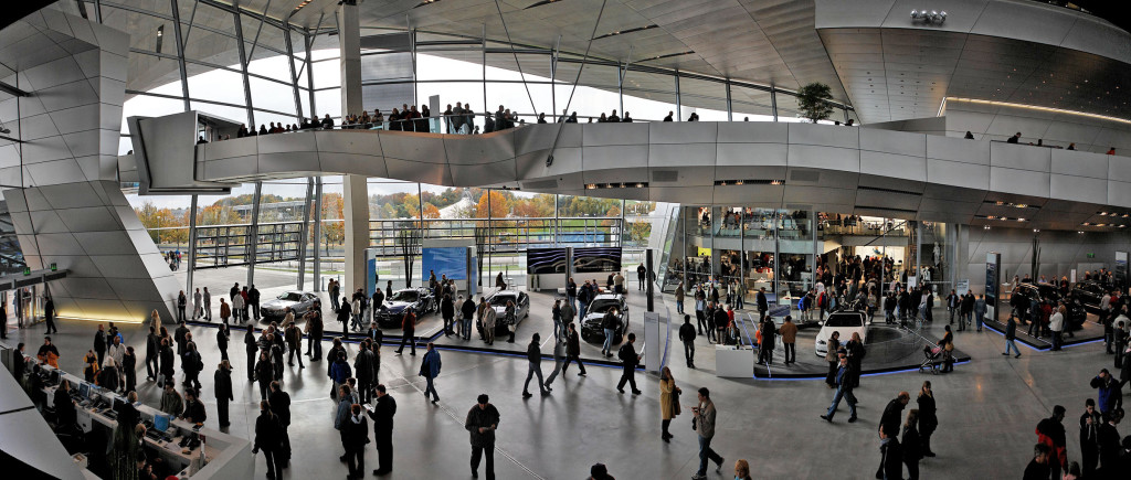 BMW in Munich / Albert Barnes / flickr.com