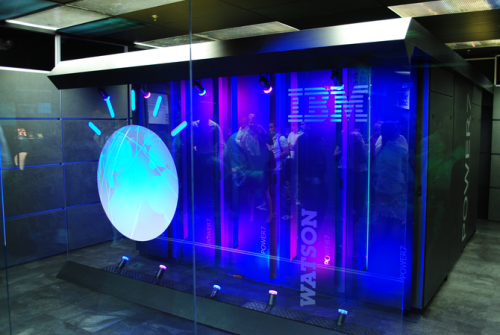 IBM's Watson computer, Yorktown Heights, NY (Photo credit Wikipedia)