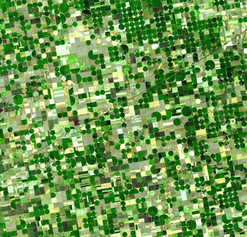 Intensive Farming / Urban grid by NASA / eoimages.gsfc.nasa.gov