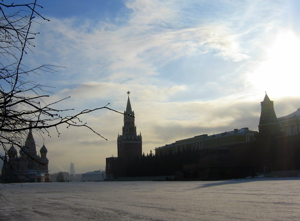 Moscow winter public space. Empty Red Square / Kexi / flickr.com